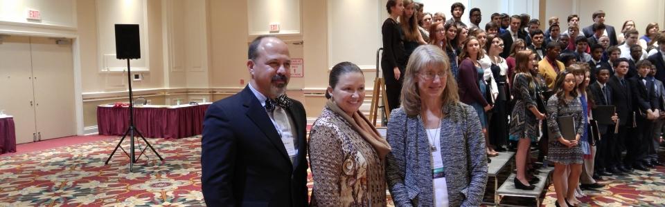 25 Year Pin Choir- Melanie Cooper and Chirs Miller