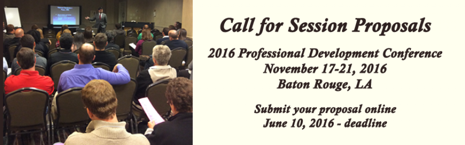 Form for submitting proposals for sessions at the 2016 LMEA Conference