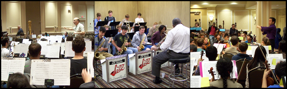 2014_All-State_Rehearsals