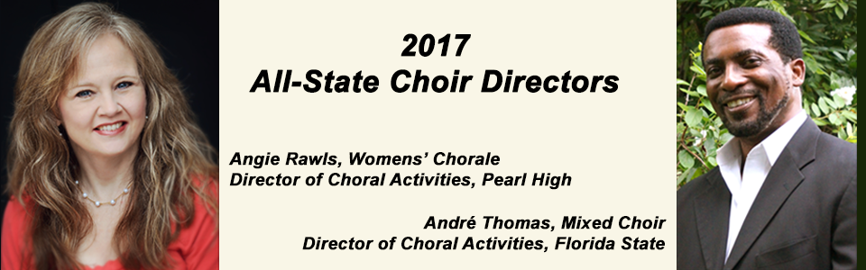 All-State Choir Directors 2017