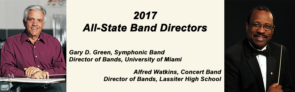 All-State Band Directors 2017