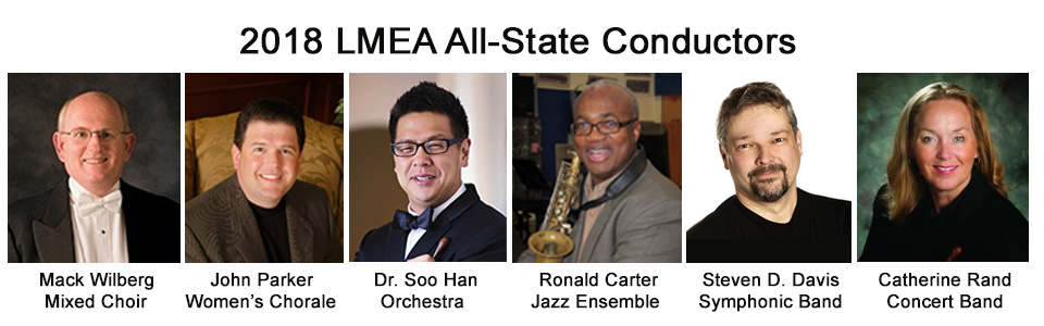 2018 All-State Ensemble Conductors