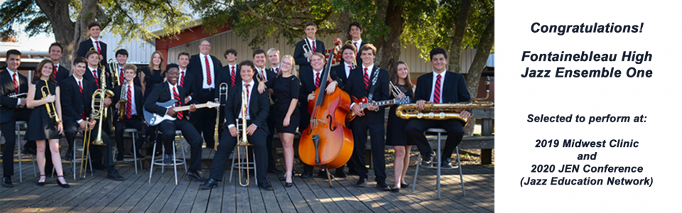 Slider – Congratulations FHS Jazz One