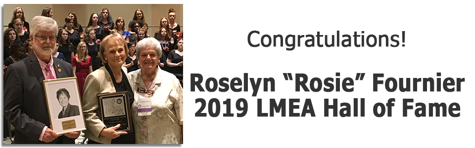 2019 LMEA Hall of Fame – Rosie Fournier