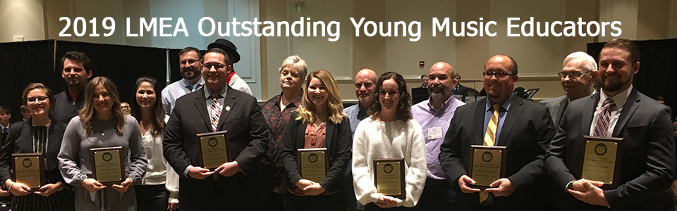 2019 Outstanding Young Music Educators – 1